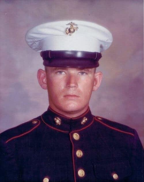 US Marine David Christian