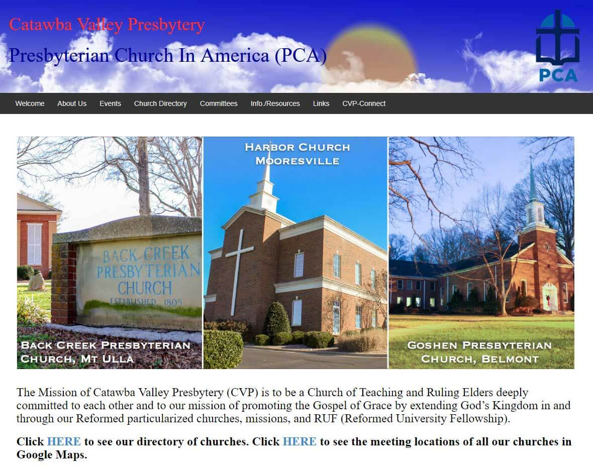 Catawba Valley Presbytery Client