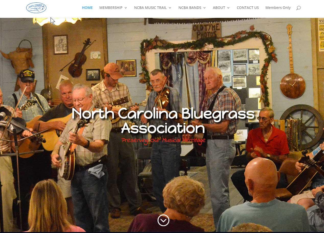 NC Bluegrass Association Client