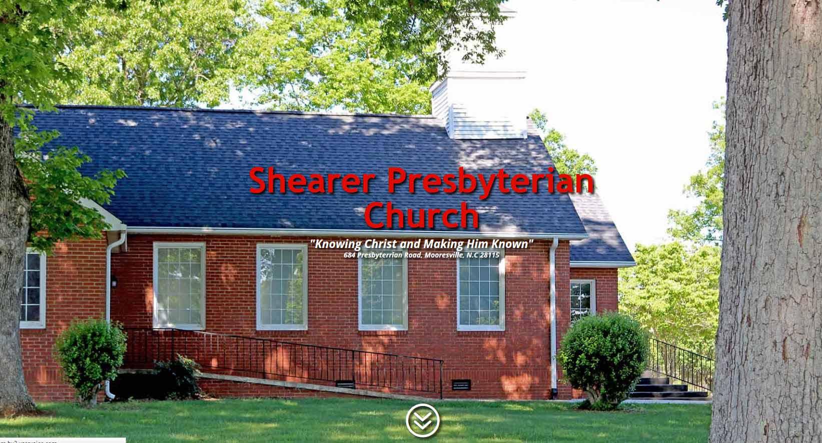 Shearer Presbyterian Church Client